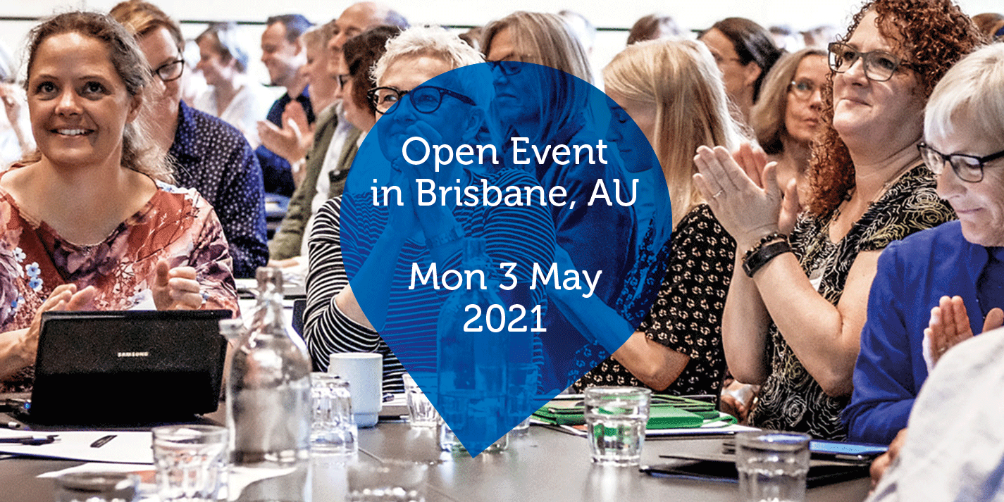 Open Event in Brisbane, AU - Mon 3 May 2021