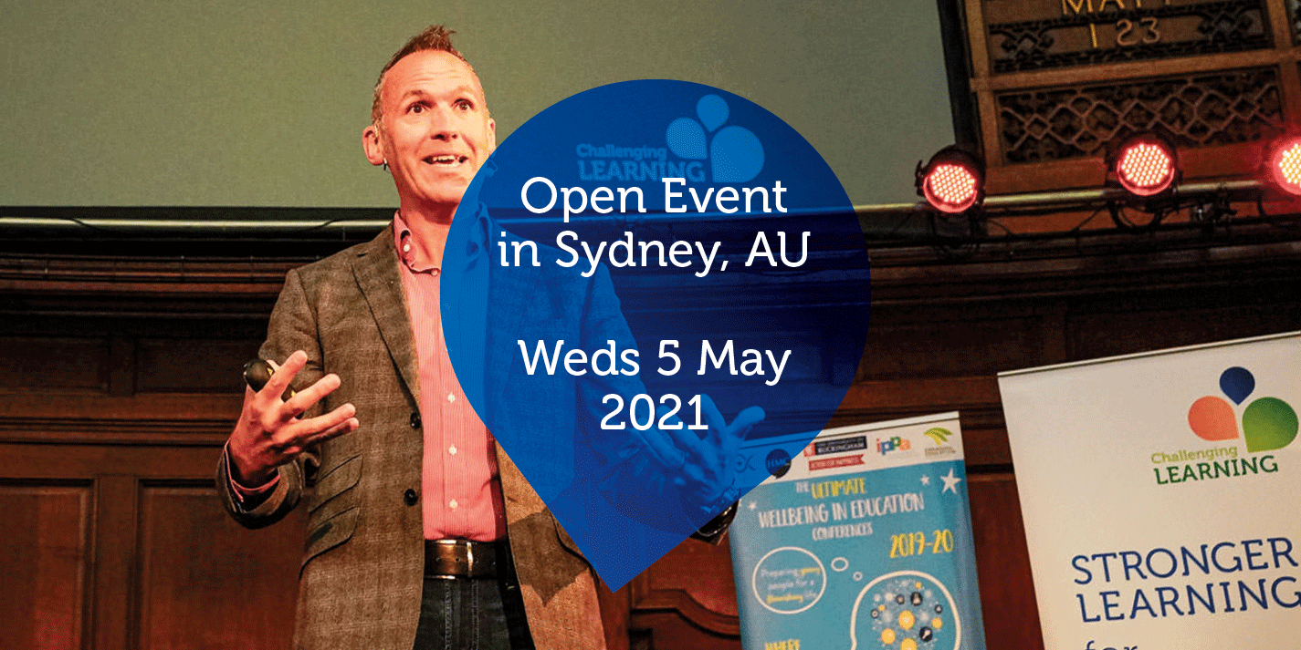 Open Event in Sydney, AU - Weds 5 May 2021