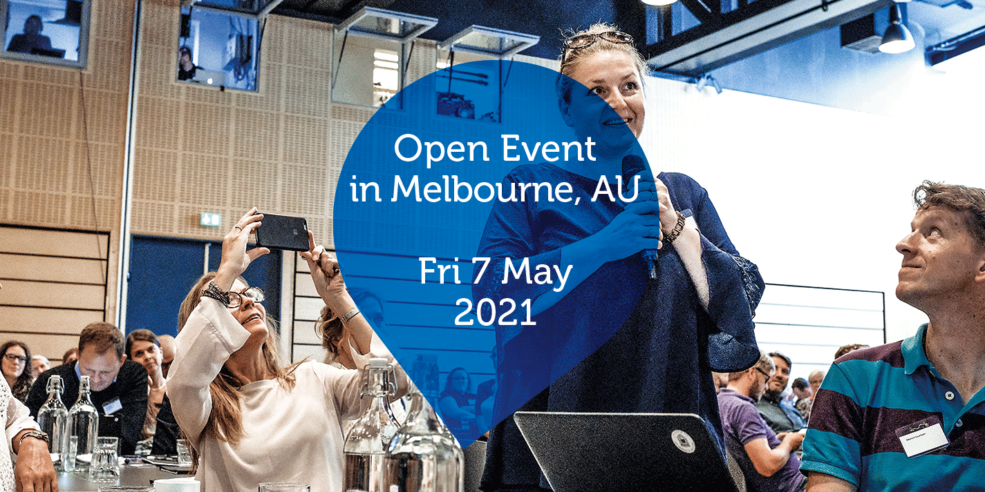 Open Event in Melbourne, AU - Fri 7 May 2021