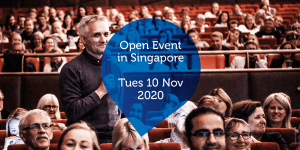 Open Event in Singapore - Tues 10 Nov 2020