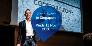 Open Event in Singapore - Weds 11 Nov 2020