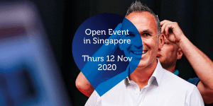 Open Event in Singapore - Thurs 12 Nov 2020