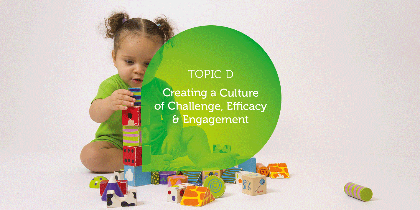 Creating a Culture of Challenge, Efficacy & Engagement