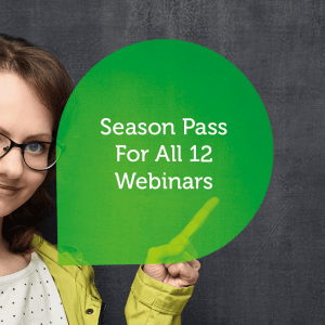 Season Pass for All 12 Webinars